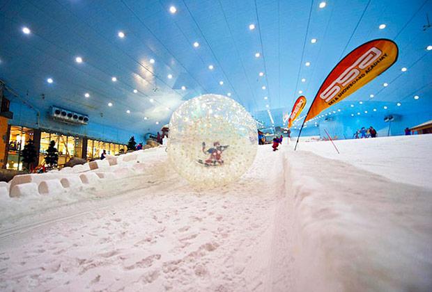 استكشف مدينة الثلج في دبي منتزهات وشواطىء أماكن دبي