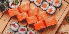 أطباق السوشي